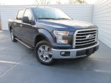 2016 Blue Jeans Ford F150 XLT SuperCrew #110220905