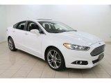 2013 Oxford White Ford Fusion Titanium AWD #110220988