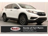 2016 White Diamond Pearl Honda CR-V SE #110220691