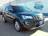 2016 Blue Jeans Metallic Ford Explorer XLT #110251170