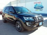 2016 Shadow Black Ford Explorer Sport 4WD #110251161