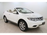 2014 Pearl White Nissan Murano CrossCabriolet AWD #110251342