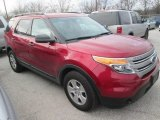 2013 Ruby Red Metallic Ford Explorer FWD #110275860