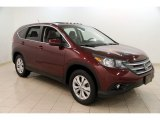 2013 Basque Red Pearl II Honda CR-V EX AWD #110276089