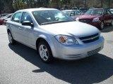2007 Ultra Silver Metallic Chevrolet Cobalt LS Sedan #11015562