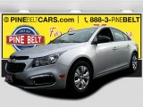 2016 Silver Ice Metallic Chevrolet Cruze Limited LS #110307166