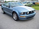 2006 Windveil Blue Metallic Ford Mustang GT Premium Coupe #11015669