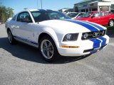 2006 Performance White Ford Mustang V6 Premium Coupe #11015588