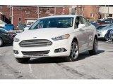 2016 White Platinum Tri-Coat Metallic Ford Fusion SE #110324405