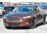2016 Bronze Fire Metallic Ford Fusion SE AWD #110324403