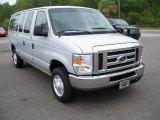 2008 Silver Metallic Ford E Series Van E350 Super Duty XLT Passenger #11015595