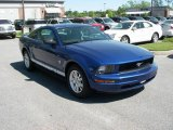 2009 Vista Blue Metallic Ford Mustang V6 Coupe #11015597