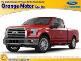 2016 Race Red Ford F150 XLT SuperCab 4x4 #110324440