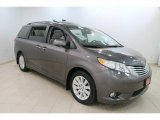 2012 Predawn Gray Mica Toyota Sienna Limited AWD #110324502