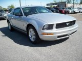 2009 Brilliant Silver Metallic Ford Mustang V6 Premium Coupe #11015593