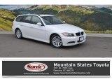 2007 Alpine White BMW 3 Series 328xi Wagon #110324366