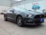 2016 Magnetic Metallic Ford Mustang EcoBoost Premium Coupe #110335764
