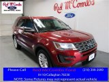 2016 Ruby Red Metallic Tri-Coat Ford Explorer FWD #110335750