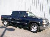 2005 Dark Blue Metallic Chevrolet Silverado 1500 Z71 Crew Cab 4x4 #1085710