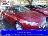 2016 Ruby Red Metallic Ford Fusion SE #110335733