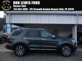 2016 Guard Metallic Ford Explorer Platinum 4WD #110335807