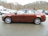 2016 Bronze Fire Metallic Ford Fusion SE AWD #110335924