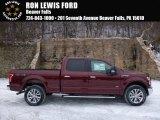 2016 Bronze Fire Ford F150 XLT SuperCrew 4x4 #110371044
