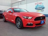 2016 Competition Orange Ford Mustang EcoBoost Coupe #110370979