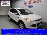 2016 White Platinum Metallic Ford Escape SE #110370972