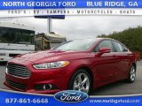 2016 Ruby Red Metallic Ford Fusion SE #110370897