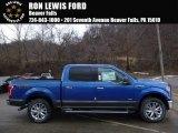2016 Blue Flame Ford F150 XLT SuperCrew 4x4 #110371056