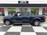 2015 Blue Jeans Metallic Ford F150 Lariat SuperCrew #110371179