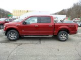 2016 Ruby Red Ford F150 XLT SuperCrew 4x4 #110371128