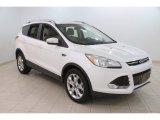 2014 White Platinum Ford Escape Titanium 2.0L EcoBoost 4WD #110371222