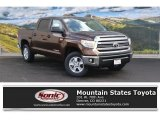 2016 Sunset Bronze Mica Toyota Tundra SR5 CrewMax 4x4 #110396470