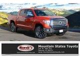 2016 Inferno Orange Toyota Tundra Limited CrewMax 4x4 #110396465