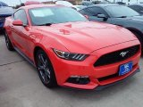 2016 Competition Orange Ford Mustang V6 Coupe #110396561