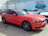 2016 Competition Orange Ford Mustang GT Coupe #110396560