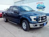 2016 Blue Jeans Ford F150 XLT SuperCab #110396547