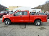 2016 Race Red Ford F150 XL SuperCab 4x4 #110396696