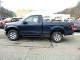 2016 Blue Jeans Ford F150 XL Regular Cab 4x4 #110396694