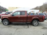 2016 Bronze Fire Ford F150 Lariat SuperCab 4x4 #110396691