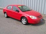 2007 Victory Red Chevrolet Cobalt LS Sedan #1085744