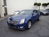 2009 Blue Diamond Tri-Coat Cadillac CTS Sedan #110419941