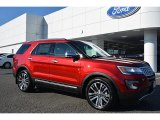 2016 Ruby Red Metallic Tri-Coat Ford Explorer Platinum 4WD #110419696