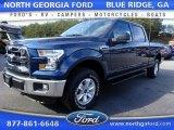 2016 Blue Jeans Ford F150 XLT SuperCrew 4x4 #110419408
