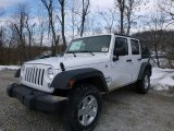 2016 Bright White Jeep Wrangler Unlimited Sport 4x4 #110419752