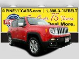 2016 Colorado Red Jeep Renegade Limited 4x4 #110419469