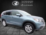 2014 Mountain Air Metallic Honda CR-V EX AWD #110467263