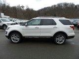 2016 White Platinum Metallic Tri-Coat Ford Explorer Limited 4WD #110472959